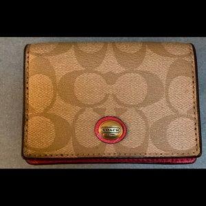 Coach wallet small